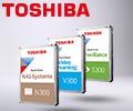 Скидка 5% на жесткие диски Toshiba по промокоду TOSHIBAHDD.