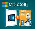 Антивирус Eset NOD32 Smart Security Family 3 устройства 1 год (скретч-карта) в подарок при покупке ОП MICROSOFT Windows 10 для дома.