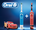 Скидка 60% на детские зубные щетки при покупке с зубными щётками Oral-B