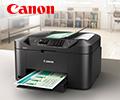 Скидка 10% на расходные материалы при покупке в комплекте со струйными МФУ и принтерами Canon Maxify.