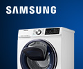Cкидка до 10000 руб. по промокоду ADDWASH на стиральные машины Samsung.