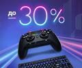 Скидки до 30% на товары для геймеров.
