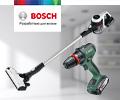 Скидка 20% на комплект при покупке электроинструментов, садовой и малой бытовой техники Bosch